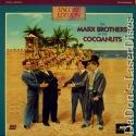 Cocoanuts Rare Encore LaserDisc Marx Brothers Comedy