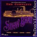 The Complete Show Boat Mega-Rare NEW LaserDisc Boxset Gardner