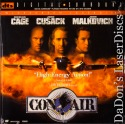 Con Air DTS WS Rare LaserDisc LD Cage Cusack Malkovich Action