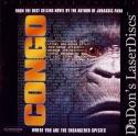 Congo AC-3 THX WS Rare LaserDisc Walsh Linney Crichton Action