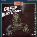 Creature from the Black Lagoon Encore Rare LaserDisc Horror