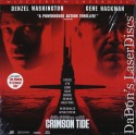 Crimson Tide AC-3 THX WS LaserDisc Washington Hackman Thriller