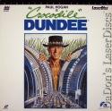 Crocodile Dundee DSS WS Rare NEW LaserDisc Hogan Kozlowski Comedy