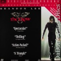 The Crow DTS THX WS Rare LaserDisc Brandon Lee Horror