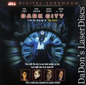 Dark City DTS WS Rare LaserDisc Sewell Connelly Sci-Fi