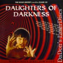 Daughters of Darkness WS Rare UNCUT NEW LaserDisc Roan Horror