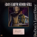 Day The Earth Stood Still Autographed NEW Box-set Rare LaserDisc + CD Sci-Fi