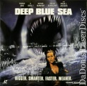Deep Blue Sea AC-3 WS Super Rare LaserDisc Jackson Jane Cool J Horror