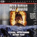 Deep Rising DTS WS LaserDisc Rare LD Williams Janssen Action