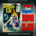 Dementia 13 Widescreen Rare NEW LaserDisc Roan Collectors Edition Horror