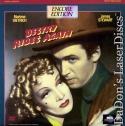 Destry Rides Again Encore LaserDisc Dietrich Stewart Hilarious Satire Western