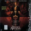 The Devil's Advocate AC-3 Widescreen Rare LaserDisc Horror