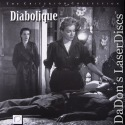 Diabolique 1954 Criterion #138 NEW Rare LD Clouzot Horror