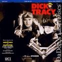Dick Tracy Rare LaserDisc Box Byrd Comic Noir Detective Drama TV Show
