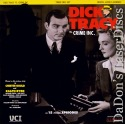 Dick Tracy vs. Crime Inc. Rare LaserDisc Box Byrd Comic Detective Drama TV Show