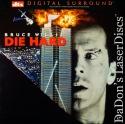 Die Hard DTS WS LaserDisc Rare LD Willis Rickman NEW Action