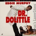 Dr. Dolittle AC-3 WS LaserDisc Murphy Rock Platt Comedy *CLEARANCE