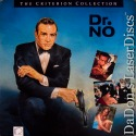Dr. No WS CAV Banned Criterion #124 LaserDisc Rare Bond 007 Spy