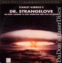 Dr. Strangelove WS CAV Criterion LaserDisc #143 Sellers Comedy