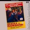 Dracula vs. Frankenstein Widescreen Roan LaserDisc Chaney Horror