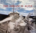 The Dream Is Alive IMAX CAV Rare LaserDisc Space Conkite NEW Documentary