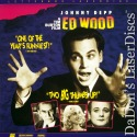 Ed Wood DSS Widescreen LaserDisc Burton Depp Landau Arquette Comedy