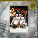 The Fall of the Roman Empire AC-3 WS Mega-Rare LaserDisc Loren Drama