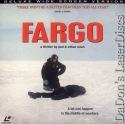 Fargo DSS WS Rare LaserDisc LD Coen McDormand Macy Thriller