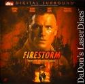 Firestorm DTS WS Rare NEW LaserDisc Long Glenn Forsythe Action