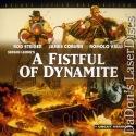 A Fistful of Dynamite WS UNCUT LaserDisc Eastwood Coburn Western