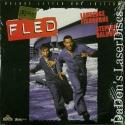 Fled AC-3 WS Rare LaserDisc Fishburne Baldwin Burke Hayek Action
