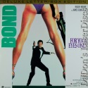 For Your Eyes Only DSS WS Bond LaserDisc 007 Moore Spy Action