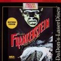 Frankenstein 1931 Uncut Encore LaserDisc Karloff Horror