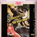 Frankenstein Meets the Wolf Man Rare Encore LaserDisc Legosi Horror