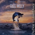 Free Willy WS DSS Anamorphic / Squeezed LaserDisc Children Family