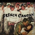 French Cancan Criterion #163 Rare NEW LaserDisc Renoir Gabin Musical Foreign