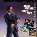 From Russia With Love WS CAV Banned Criterion 131 Rare LaserDisc Bond 007 Spy