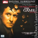 The Game DTS THX WS Rare NEW LaserDisc Douglas Thriller