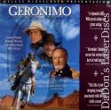 Geronimo An American Legend WS Rare LaserDisc Damon Duvall Western