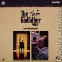 The Godfather Family Mega-Rare LaserDisc Brando Pacino Documentary