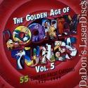 Golden Age of Looney Tunes 5 Rare NEW LaserDisc Boxset Cartoon