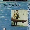 The Graduate WS CAV Criterion #17 Rare LaserDisc Hoffman Comedy