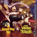 Grand Day Out Wrong Trousers Wallace Gromit LaserDisc Animation