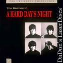 A Hard Day's Night CAV Criterion #20 Beatles LaserDisc Comedy
