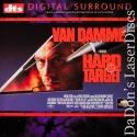 Hard Target DTS WS Rare NEW LaserDisc Van Damme