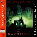 The Haunting AC-3 6.1 WS 1999 Rare NEW LaserDisc Zeta-Jones