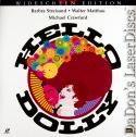 Hello, Dolly! 1960 AC-3 WS LaserDisc Streisand Musical