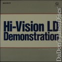 Hi-Vision LD Demonstration MUSE HDTV 1080i