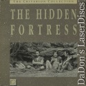 The Hidden Fortress WS CAV Rare LaserDisc Box Criterion #11 Box Set Adventure
