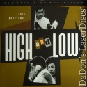 High and Low WS Remastered Criterion #382 Rare LaserDisc Kurosawa Thriller Foreign